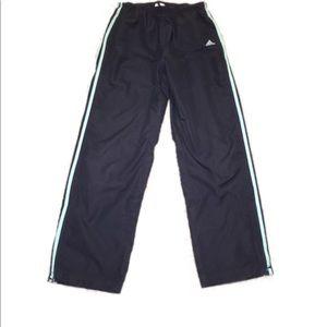 Women's Dark Blue Adidas Pants Size Medium